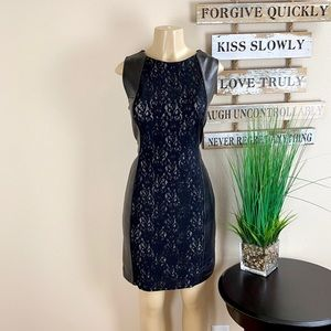 Dresses & Skirts - UNBRANDED | Leather And Lace Dress